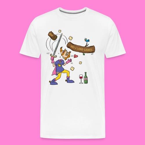 Hei-j Land  man - Mannen Premium T-shirt