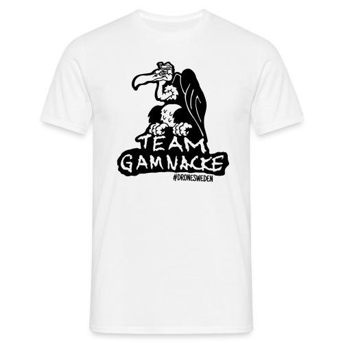 T-shirt - Team Gamnacke, vit - T-shirt herr