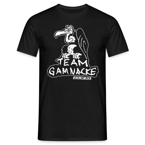 T-shirt - Team Gamnacke, svart - T-shirt herr