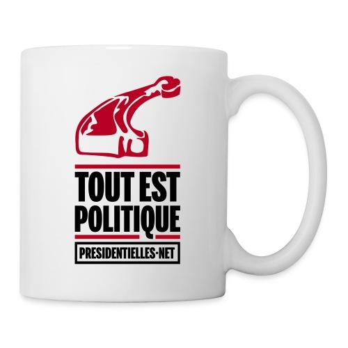 La Boucherie Tout est politique - Mug blanc