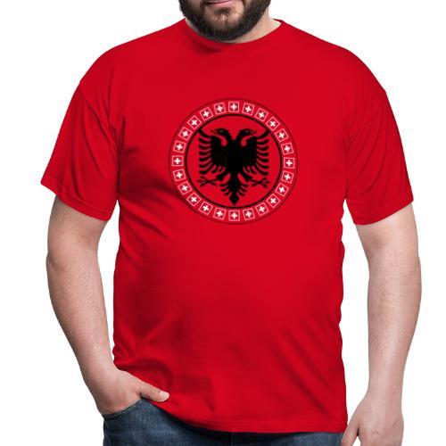 Männer T-Shirt Albanien Schweiz - Männer T-Shirt