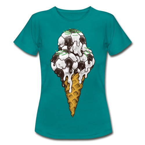Ice Cream Soccer Balls - Women's T-Shirt