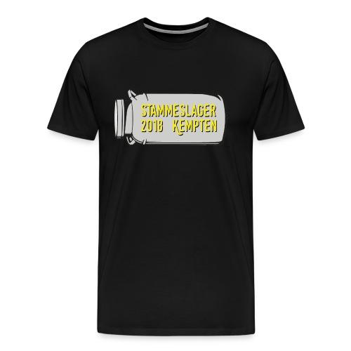 T-Shirt Stammeslager 2018 - Männer Premium T-Shirt
