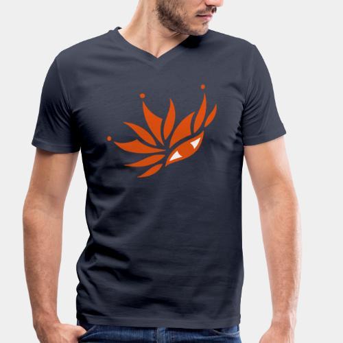 Œil-Voyage 2 - T-shirt bio col V Stanley & Stella Homme