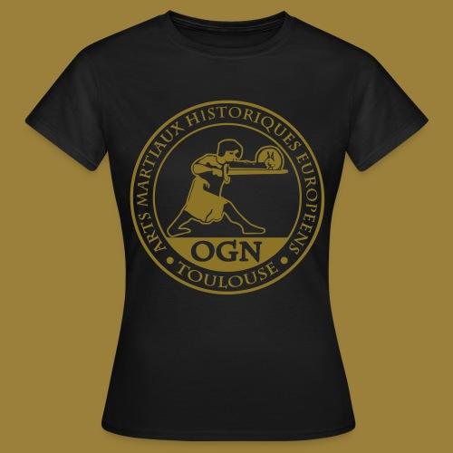 OGN officiel 18-19 -GIRLY All Over Chest - T-shirt Femme