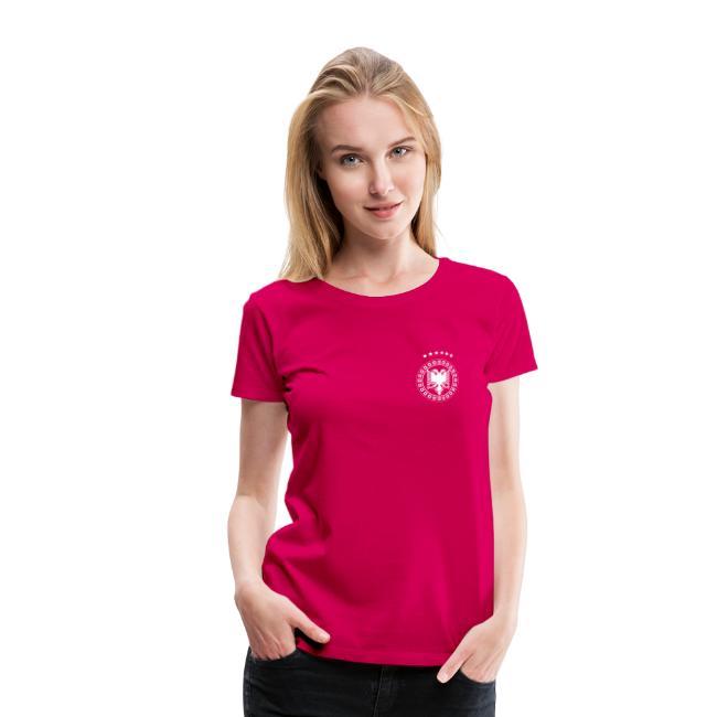 Frauen Premium T-Shirt Albanien Kosovo Schweiz