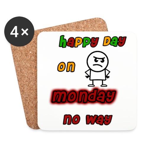 Montag Morgen Untersetzter - Untersetzer (4er-Set)