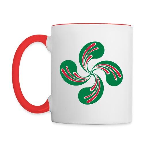 Croix Basque - Mug contrasté