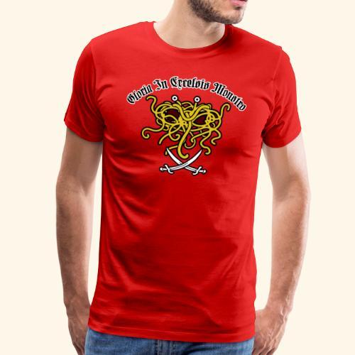 fsm in excelsis monstro - Mannen Premium T-shirt