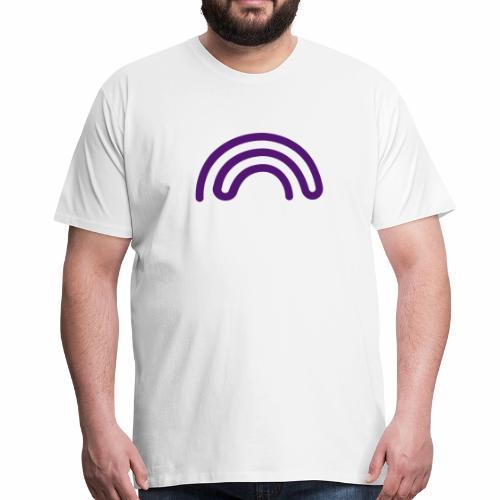 DBNA Regenbogen - Männer Premium T-Shirt