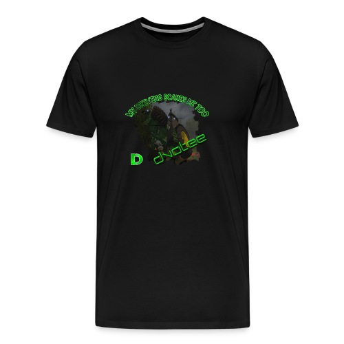 Dvotee Tractor - Men's Premium T-Shirt