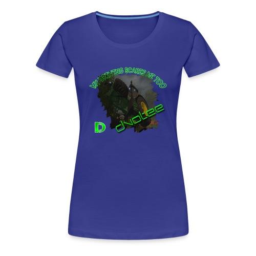 Women's Dvotee Tractor - Women's Premium T-Shirt