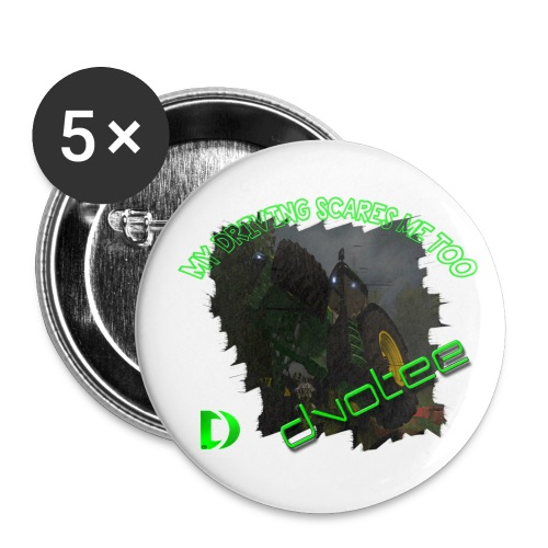 Tractor Badge - Buttons medium 32 mm