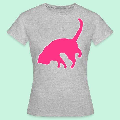 Pink cat - Frauen T-Shirt