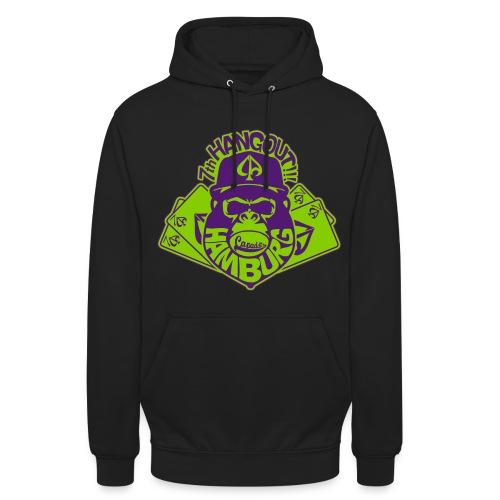 Joker Hoody - Black/Green/Purple - Unisex Hoodie