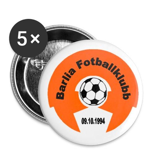 BFK-buttons - Liten pin 25 mm (5-er pakke)