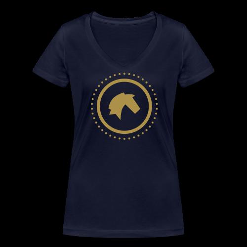 Hannover - Frauen Bio-T-Shirt mit V-Ausschnitt von Stanley & Stella