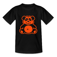 T-Shirts ~ Teenager T-Shirt ~ Kinder-Shirt mit Teddy