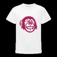 T-Shirts ~ Teenager T-Shirt ~ Kinder-Shirt mit Äffchen