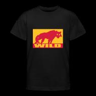 T-Shirts ~ Teenager T-Shirt ~ Motive-Kinder-Shirt, Wild