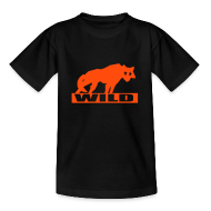T-Shirts ~ Teenager T-Shirt ~ Motive-Kinder-Shirt, Wild