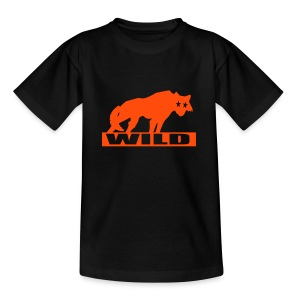 Motive-Kinder-Shirt, Wild - Teenager T-Shirt