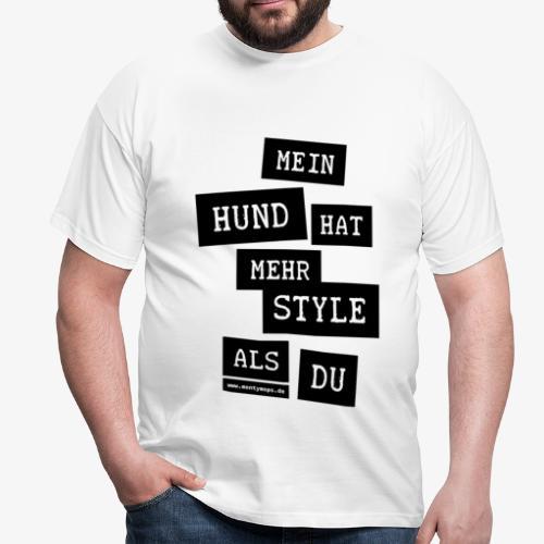 T-Shirt Herren MY DOG (Schwarze Schrift) - Männer T-Shirt