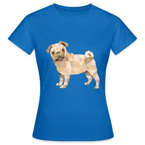 T-Shirt Damen THE PUGSTER - Frauen T-Shirt