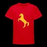 T-Shirts ~ Teenager T-Shirt ~ Motive-Kinder-Shirt, Pferdchen