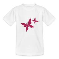T-Shirts ~ Teenager T-Shirt ~ Motive-Kinder-Shirt, Schmetterling
