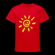 T-Shirts ~ Teenager T-Shirt ~ Motive-Kinder-Shirt, Sonne