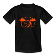 T-Shirts ~ Teenager T-Shirt ~ Motive-Kinder-Shirt, Elch