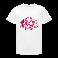 T-Shirts ~ Teenager T-Shirt ~ Motive-Kinder-Shirt, Puppy