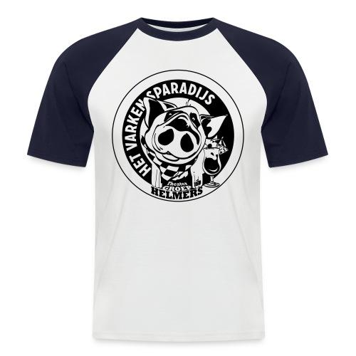 VP Zwartwit shirt - Men's Baseball T-Shirt