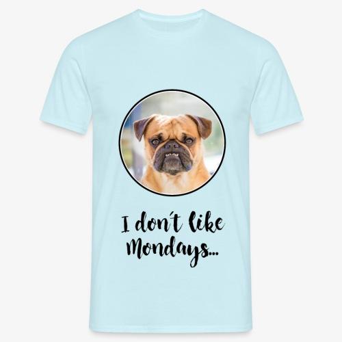 T-Shirt Herren I DON´T LIKE MONDAYS - Männer T-Shirt