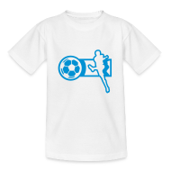 T-Shirts ~ Teenager T-Shirt ~ Motive-Kinder-Shirt, Fussball