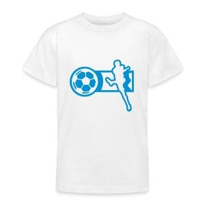 Motive-Kinder-Shirt, Fussball - Teenager T-Shirt