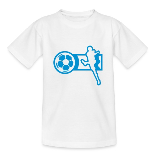 Motive-Kinder-Shirt, Fussball - Teenager T-Shirt
