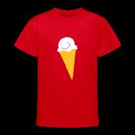 T-Shirts ~ Teenager T-Shirt ~ Motive-Kinder-Shirt, Eis