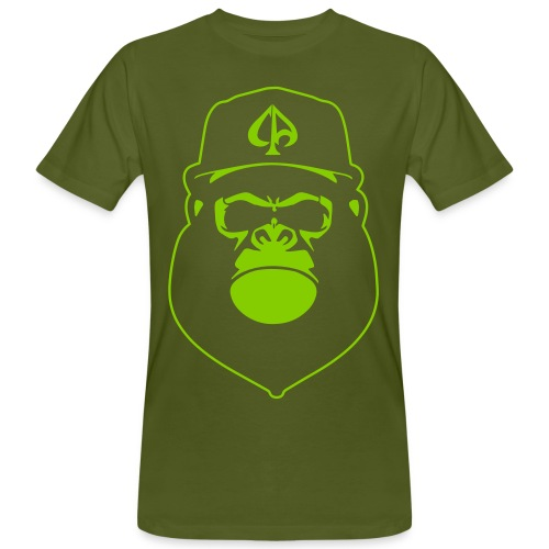Moosgrün/Apfelgrün - Männer Bio-T-Shirt