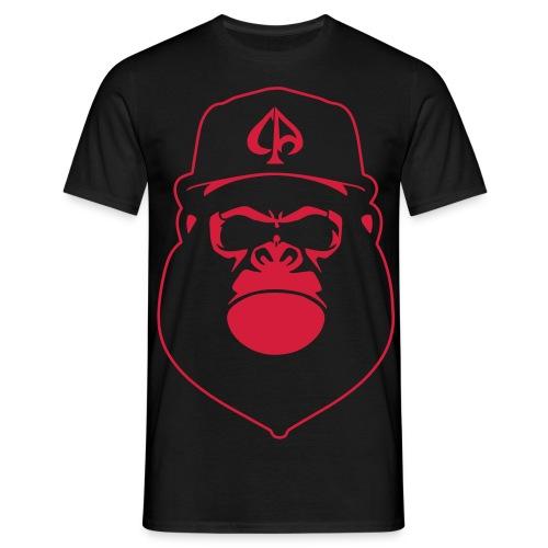 Black/Red - Männer T-Shirt