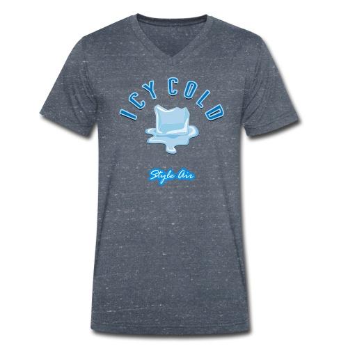 ICY COLD Hot Ice  - Männer Bio-T-Shirt mit V-Ausschnitt von Stanley & Stella