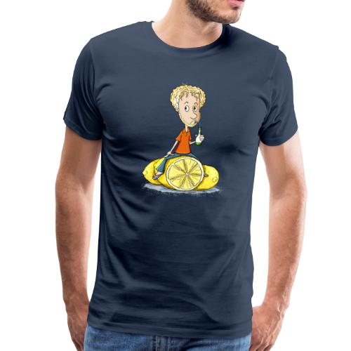 Gibt Dir das Leben Zitronen... - Männer Premium T-Shirt - Männer Premium T-Shirt