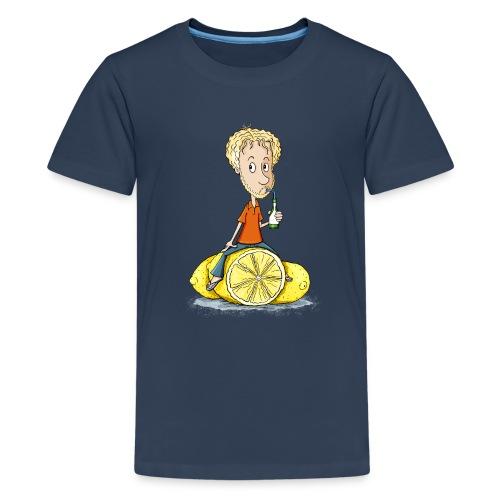 Gibt Dir das Leben Zitronen... - Teenager Premium T-Shirt - Teenager Premium T-Shirt