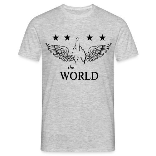 F##k the World - Männer T-Shirt