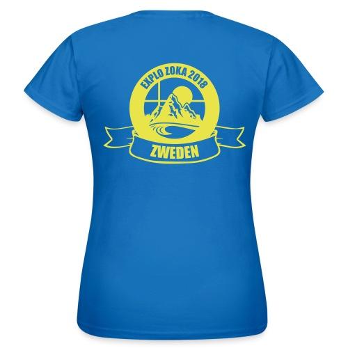 t-shirt  vrouwen2 - Vrouwen T-shirt