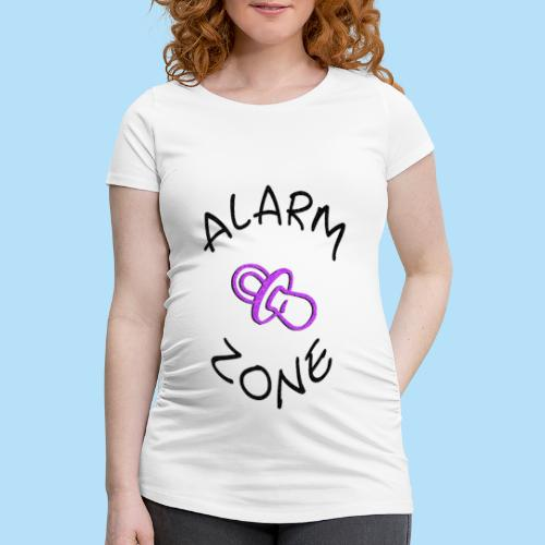 Alarm Zone - Frauen Schwangerschafts-T-Shirt