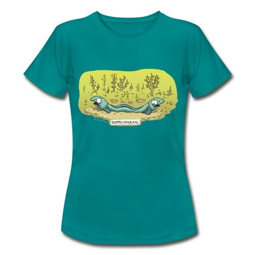T-Shirt Frauen Doppelmooraal - Frauen T-Shirt