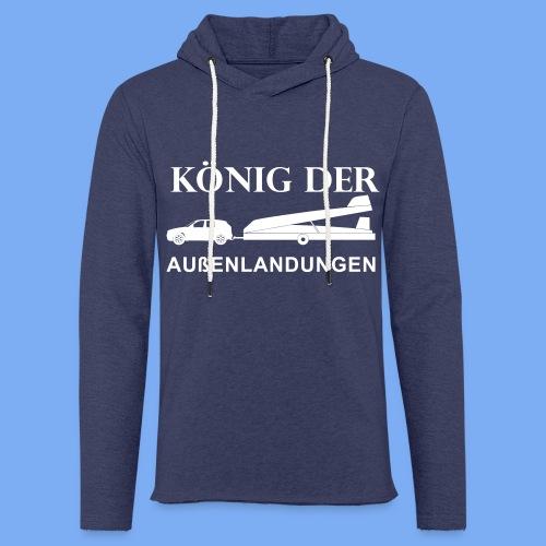 König der Außenlandung - Segelflieger Sweatshirt - Light Unisex Sweatshirt Hoodie