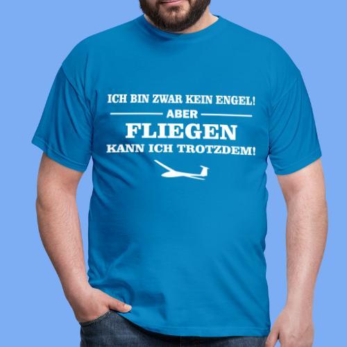 Segelflieger Geschenk Engel lustig T-Shirt - Men's T-Shirt
